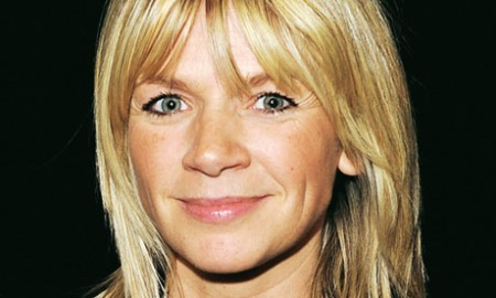 "19.02.13 - Zoe Ball television and radio personality, most famous for presenting the 1990s BBC children's show ""Live & Kicking""."