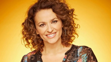 27.02.17 Nadia Sawalha - actress and television presenter best known for her role in BBC TV's 'Eastenders' and appearances on ITV's 'Loose Women'