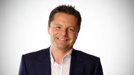 24.11.16 Chris Hollins - journalist, BBC presenter and sportsman and best known for being the of Strictly Come Dancing in 2009.