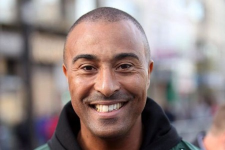 16.11.17 Colin Jackson CBE - former Olympic Welsh sprinter and hurdling athlete who specialised in the 110 metres hurdles.