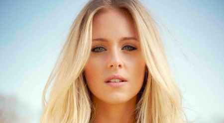 "09.06.14 - Diana Vickers, singer-songwriter, actress, fashion designer and model who initially came to public attention as a semi-finalist on ITV's ""The X Factor"" in 2008."