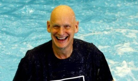 12.09.16 Duncan Goodhew - a Team GB Olympic swimmer winning gold and bronze medals at the 1980 Summer Olympics in Moscow.
