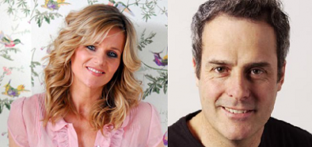 06.03.14 - Linda Barker, Television Presenter and Interior Designer and Phil Vickery, TV Chef.