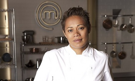 19.04.16 Monica Galetti - Samoan-born kiwi chef and one of the presenters of 'MasterChef: The Professionals'.