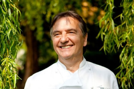10.10.14 Raymond Blanc OBE - French chef and television personality.