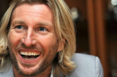 04.05.16 Robbie Savage - Welsh football pundit and former player as a midfielder at Manchester United, Crewe Alexandra and Leicester City