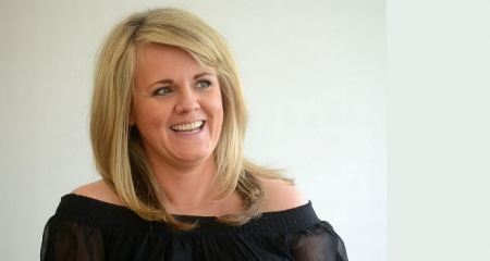 06.04.18 Sally Lindsay - actress and TV presenter known for her roles as Shelley Unwin in the long-running ITV soap opera Coronation Street and Kath Agnew in the BBC sitcom Still Open All Hours.