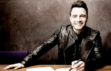 10.07.14 Shane Filan - Former lead singer with multi-platinum Irish band Westlife.