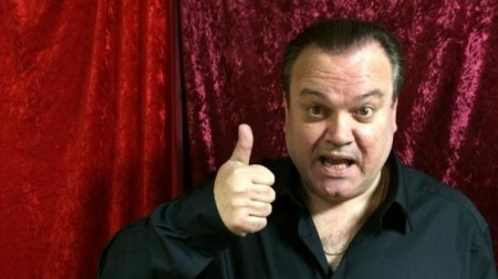 09.01.18 Shaun Williamson - actor, singer, media personality, and occasional presenter, best known for his role as Barry Evans in EastEnders and as a satirical version of himself in the BBC/HBO sitcom Extras.