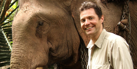 22.03.18 Steve Leonard - veterinarian and television personality.
