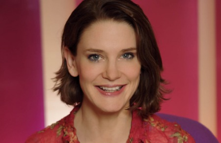 15.11.10 - Susie Dent, Countdown's Dictionary Corner word expert.