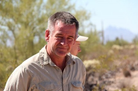 19.06.14 - Nigel Marven, wildlife presenter, television producer, author and ornithologist.