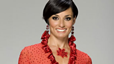 24.04.13 - Flavia Cacace is a British-based Italian professional dancer. Her professional dance partner is Vincent Simone and both regularly appear on the BBC's Strictly Come Dancing.