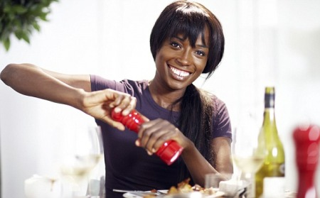 04.02.13 - Lorraine Pascale is a former model and now appears as a Television Chef.