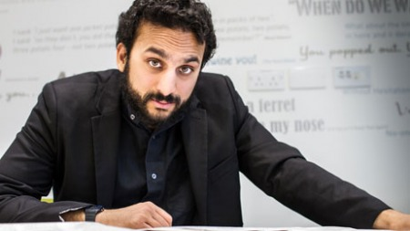 23.09.16 Nish Kumar -  stand-up comedian, actor, and radio presenter. Famous for his appearances on 'Have I Got News For You' and 'Mock the Week'.