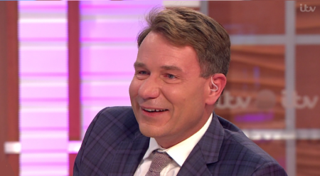 21.11.17 Richard Arnold - TV presenter, currently working as the Entertainment Editor for ITV's 'Good Morning Britain'.