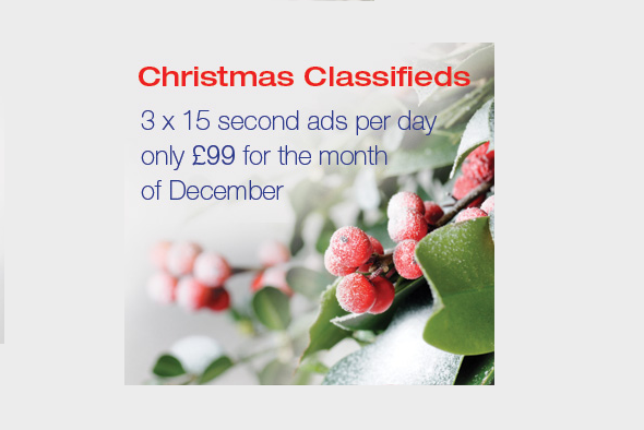 Christmas Classified Offer