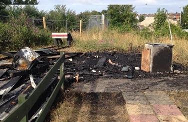 SKLR Light Railway's 'Devastating' Arson Attack