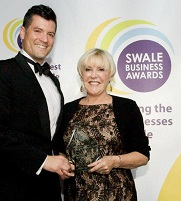 Julie Gamble Wins Swale Business Award