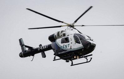 Collapsed Man Airlifted From Leisure Centre