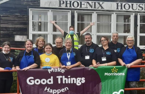 Phoenix House Home To Bus Shelter Project