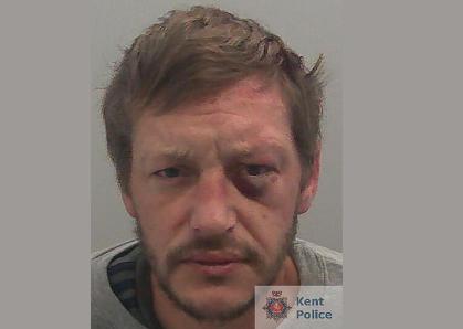 Sittingbourne Burglar 'Caught In The Act' Jailed