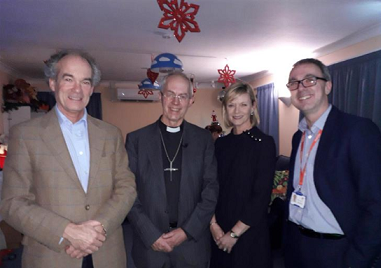 Justin Welby Visits Demelza For Christmas