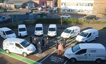 Council Replaces Fleet With New Electric Vehicles
