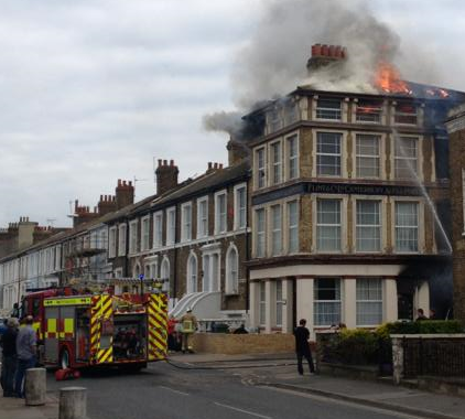 Appeal After Suspicious Fire In Sheerness