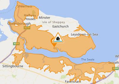 Environment Agency Issue Flood Alert