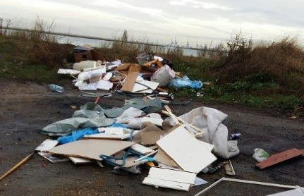 Iwade Flytipping Costs A Maidstone Man Dear