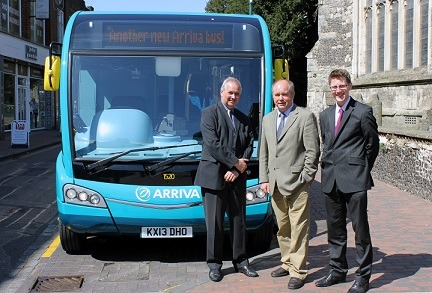 New Buses For Routes In Swale