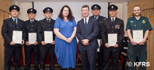 Awards Ceremony To Honour Firefighters