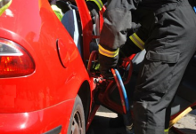 Woman Rescued From M2 Accident