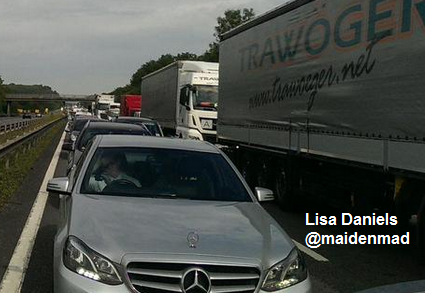 Town Gridlocked Again After Two M2 Accidents