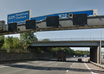 Police Appeal Following Serious Collision On M20