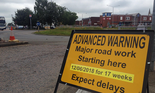 Regeneration Road Closures Now In Place