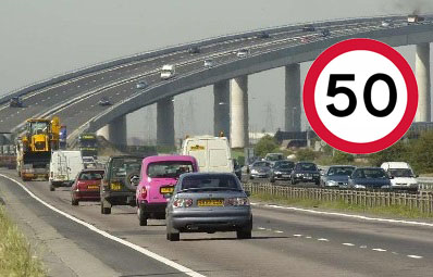 Sheppey Crossing Speed Limit Lowered To 50mph