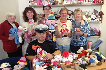 Kent Police Receives 100 New Cuddly Recruits