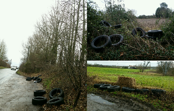 Appeal Following Mass Tyre Dumping