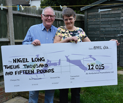 Local Security Guard Wins In Air Ambulance Lottery