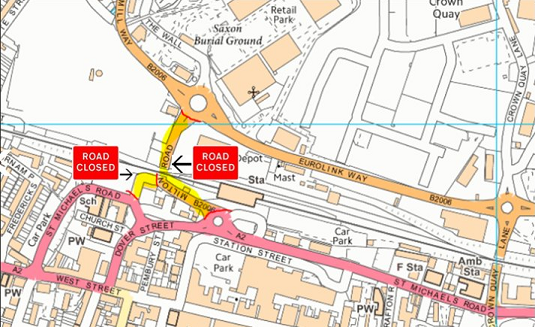 Milton Road Closure