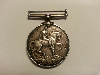 War Medal Recovered During Police Burglary Campaign
