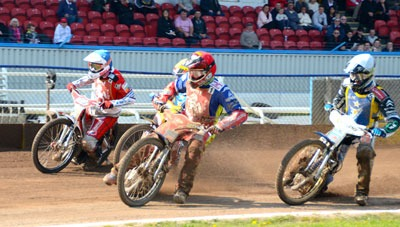 Second Speedway Season Opens At Central Park