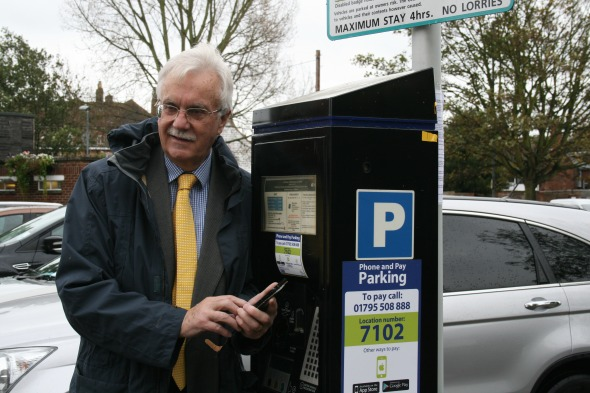 Phone And Pay Car Parking Introduced to Swale