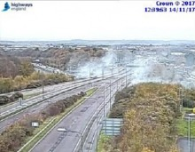 M2 Closed Due To Lorry Fire