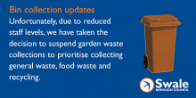 COVID19 - Council Suspends Garden Waste Collections