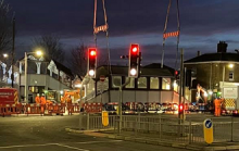 Sittingbourne's Victorian Station Bridge Demolished