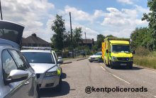 Serious Accident Closes Old Sheppey Way