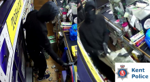Newsagent Robbery - CCTV Appeal Issued